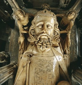 EdwardEffigy 291x300 Effigy of Edward II