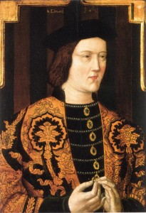 Edward IV Plantagenet 205x300 The Plantagenet Portrait Gallery