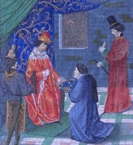 Richard II in Froissarts Chronicles