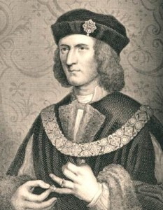 Richard III. Reproduced in The History of England by David Hume 1826 233x300 The Plantagenet Portrait Gallery