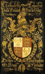 Shield of Edward IV as knight of the Order of the Golden Fleece 182x300 The Plantagenet Portrait Gallery