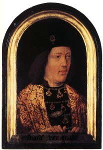 edwardiv 207x300 The Plantagenet Portrait Gallery
