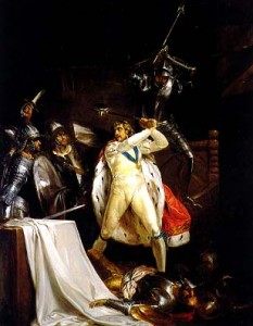 the death of Richard ii 233x300 The Plantagenet Portrait Gallery