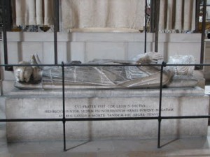tomb of Henry the Young King 300x225 The Plantagenet Portrait Gallery