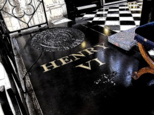 Tomb of Henry VI St Georges Chapel at Windsor
